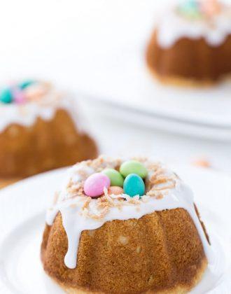Coconut Lemon Bundt Cake