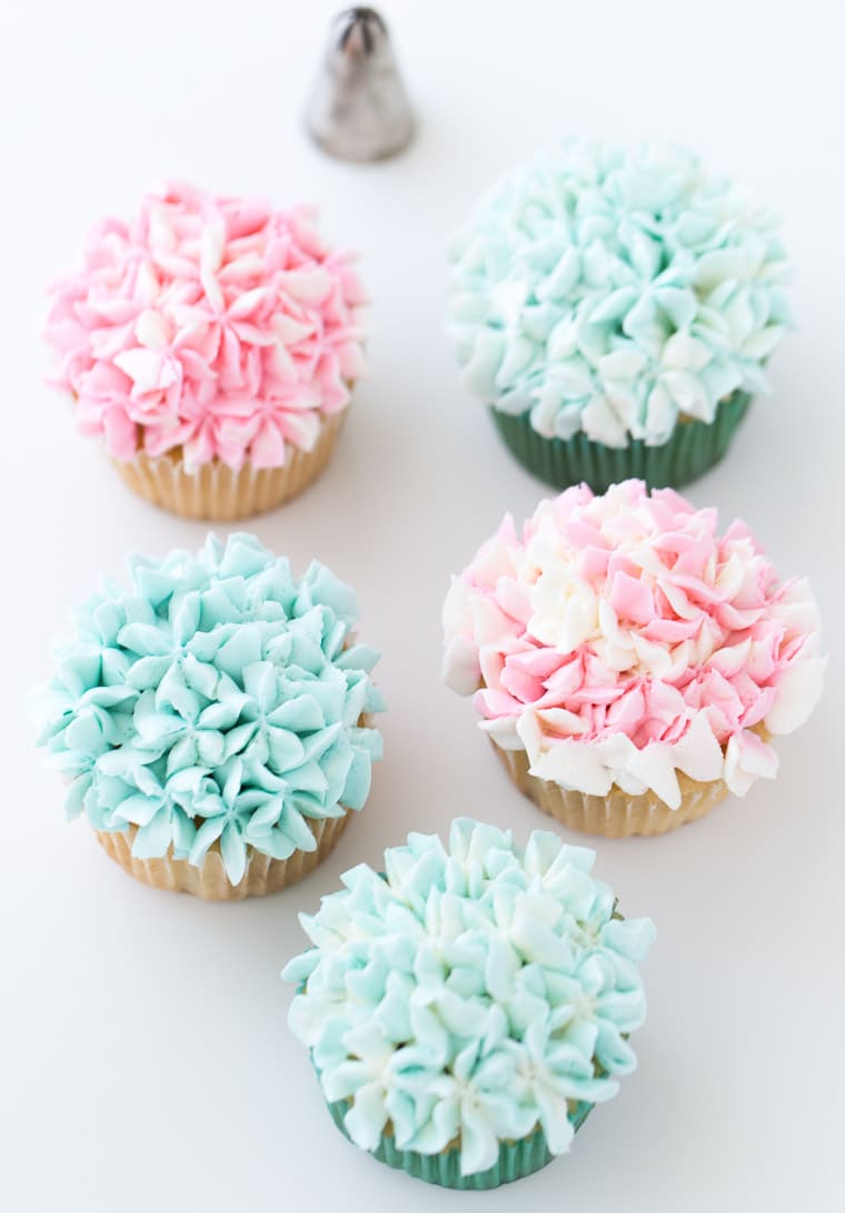 Flower Cupcakes A Classic Twist