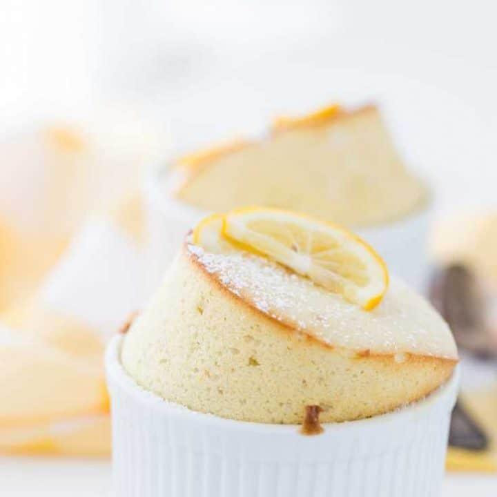 Meyer Lemon Souffle