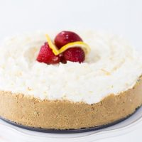 Lemon Macaroon Cheesecake