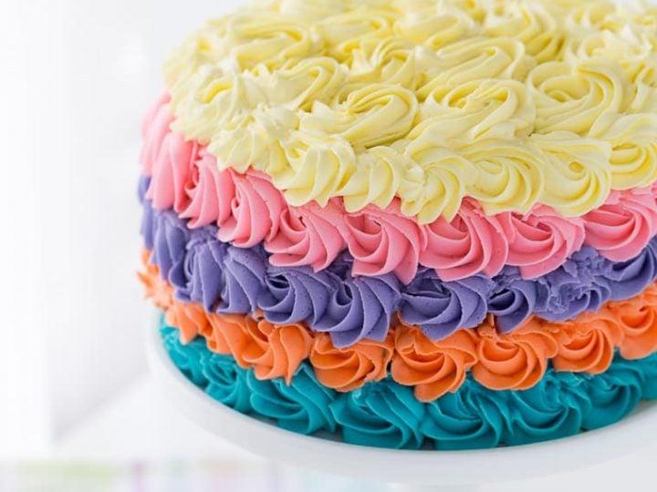 Strawberry Rainbow Cake A Classic Twist