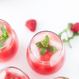Refreshing watermelon sangria recipe