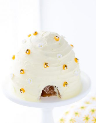 beehive lemon honey cake-
