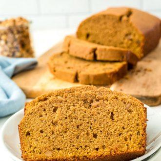 Brown Butter Sweet Potatoe Bread