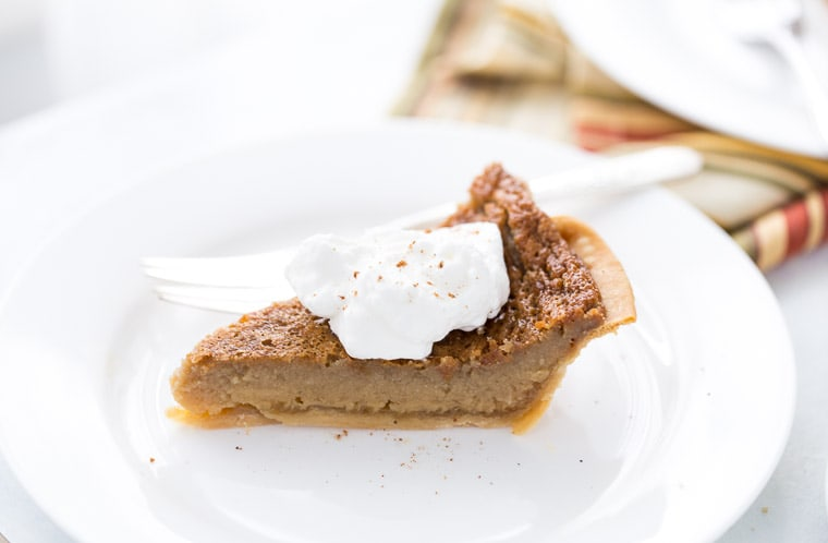 Brown Sugar Maple Pie
