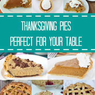 Thanksgiving Pies Perfect for Your Table