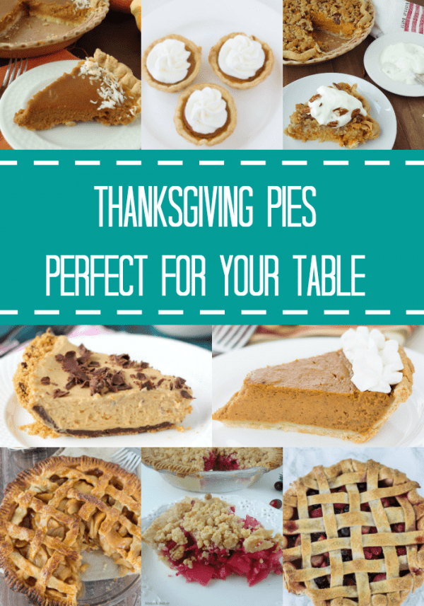 Thanksgiving Pie Recipes Perfect for Your Table