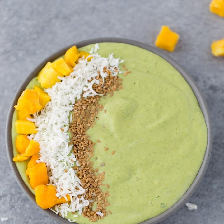 Mango Coconut Smoothie Bowl