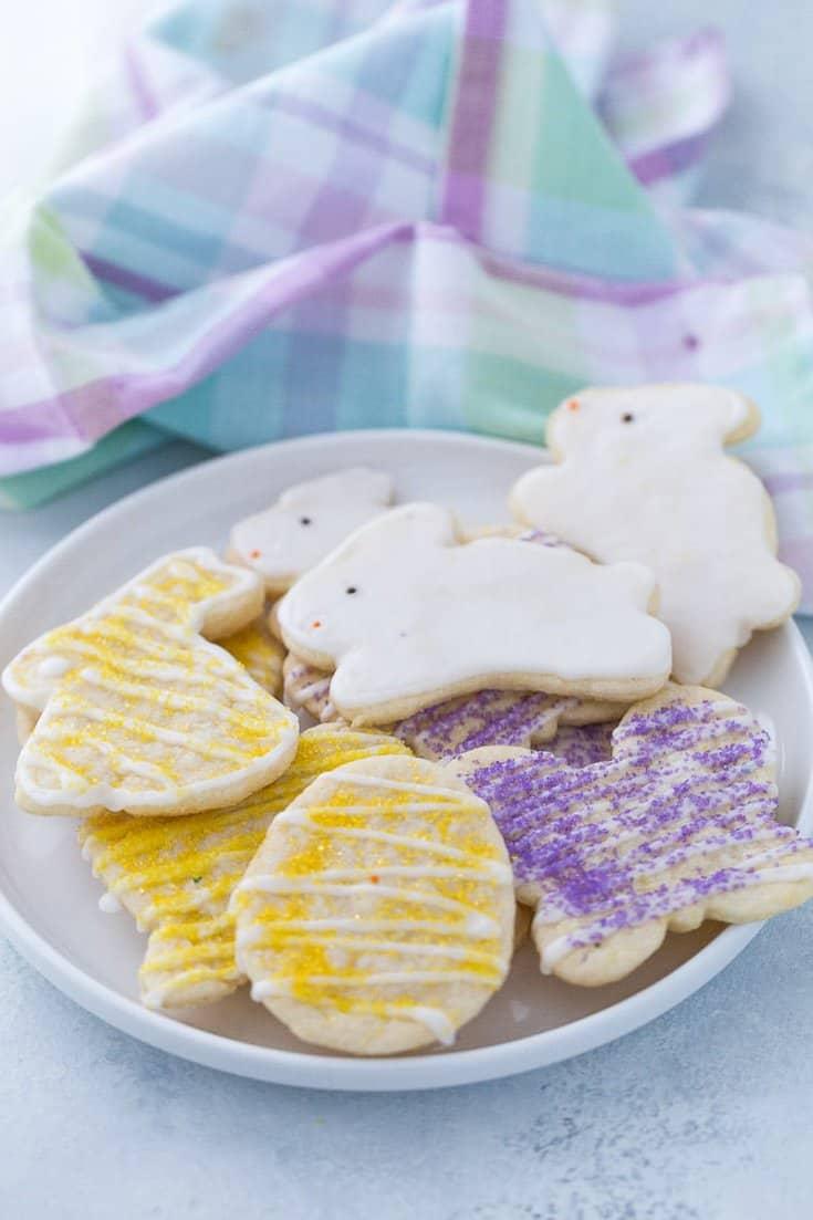 Lemon Easter Cookies