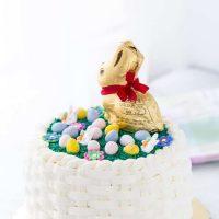 Easter Basket Weave Cake
