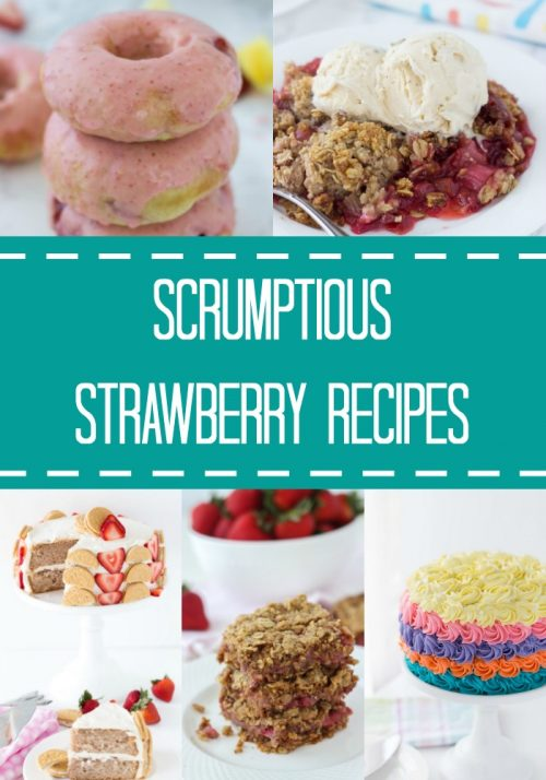 A collection of my favorite strawberry recipes just in time for summer! From strawberry crumble to donuts, these classic recipes are a must.