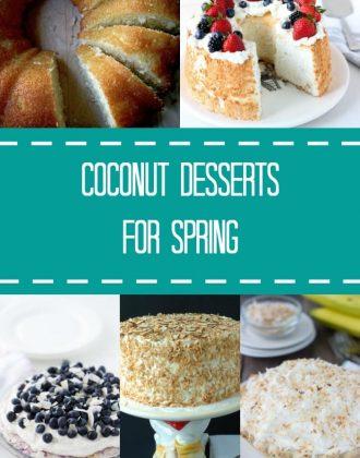 Throwback Blahnik Bites - Coconut Desserts