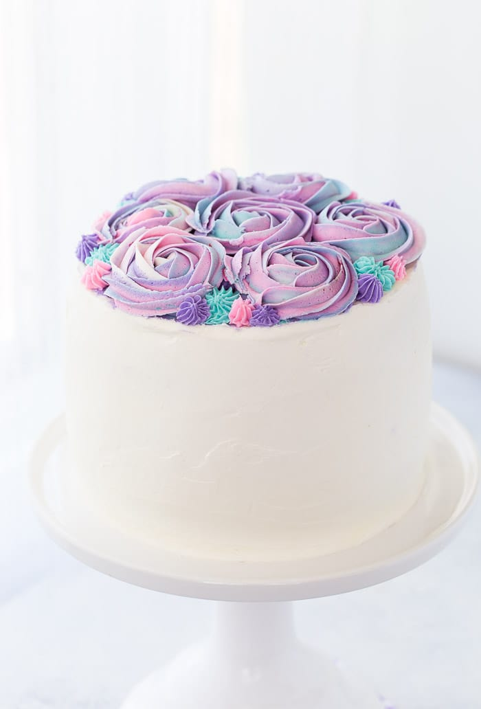 White Chocolate Rose Cake For Mother S Day A Classic Twist