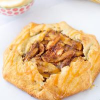 Apple Galette with Caramel