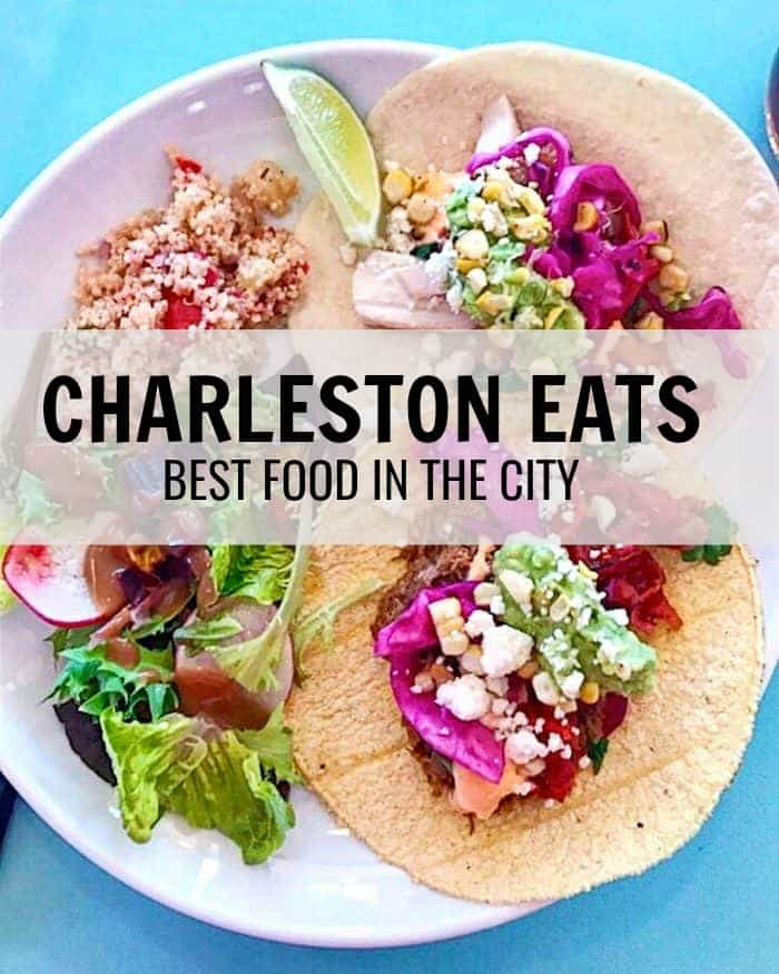 Here are my favorite places that must be on your Charleston eats list. From fried chicken to shrimp & grits, these are some of the best eats in the city. #charleston #blahnikbaker #travel