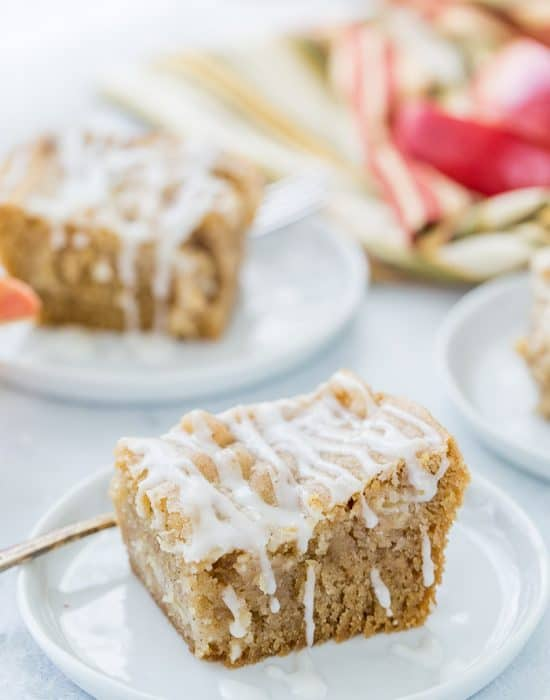 This is my Grandma's Apple Cake Recipe that's perfect for all your fall gatherings. With lightly spiced apples and a sweet glaze, each slice is comforting.