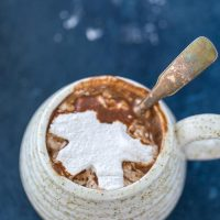 Hot Chocolate with Cardamom Marshmallows