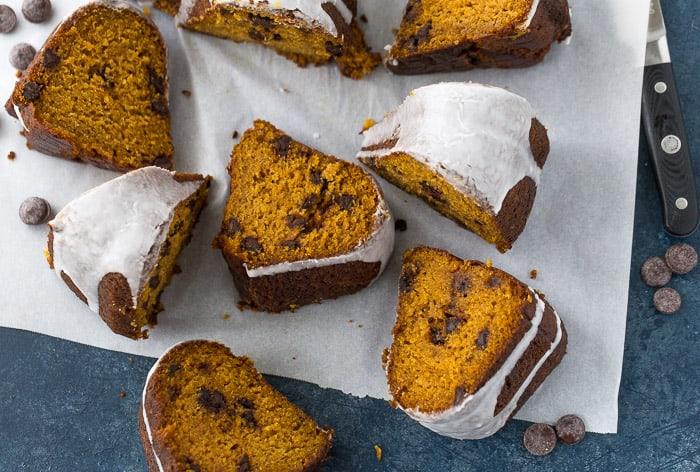 mom's pumpkin chocolate chip cake recipe