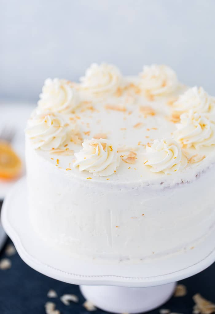 Meyer Lemon Coconut Cake