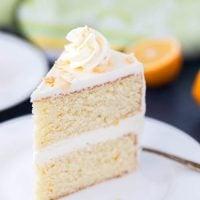 Meyer Lemon Coconut Cake