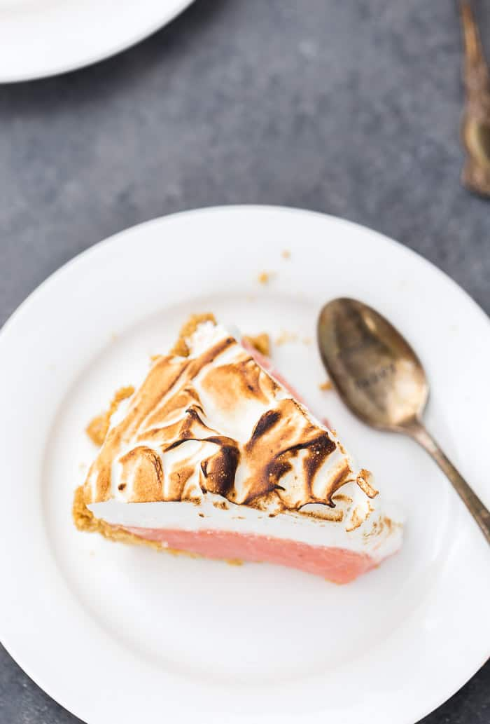 Blood Orange Meringue Pie