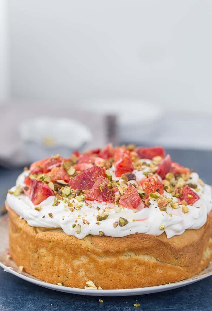California Orange Cake Recipe