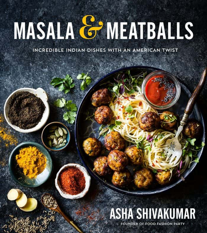 masala and meatballs cookbook cover