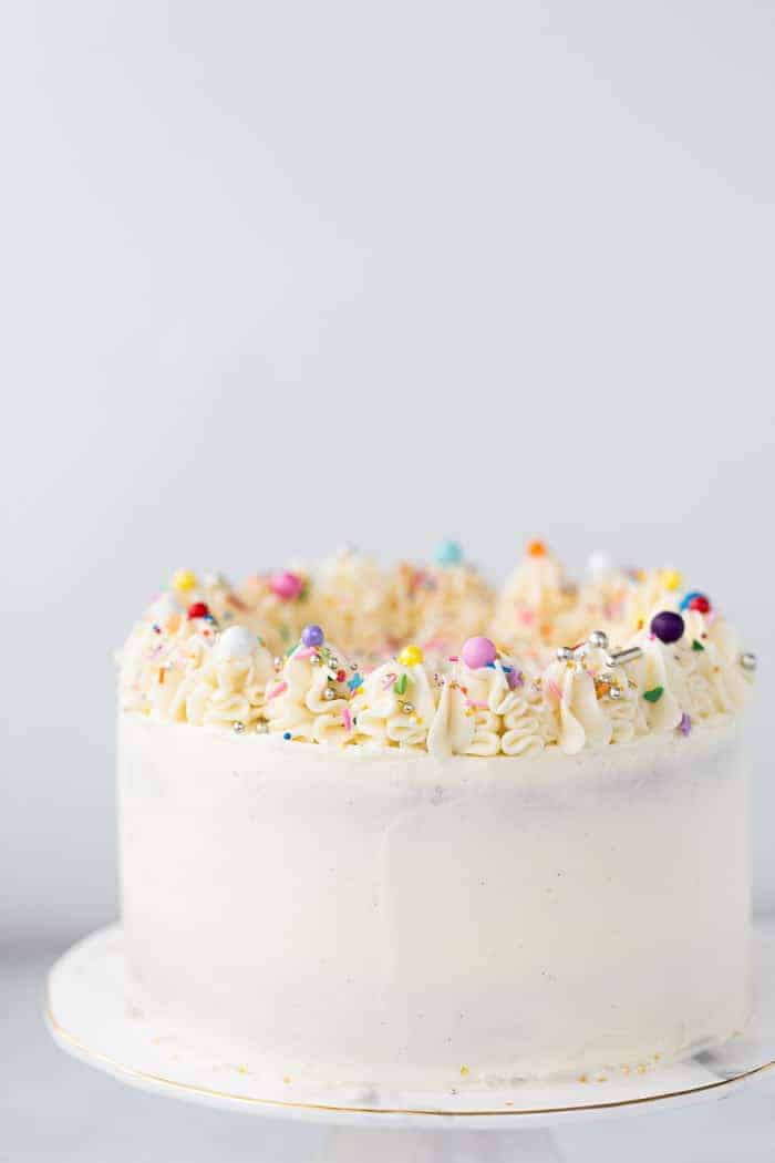 Chocolate Cake With Vanilla Buttercream
