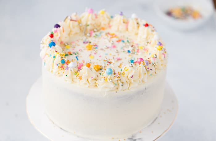 How To Frost A Layer Cake Step By Step Instructions And