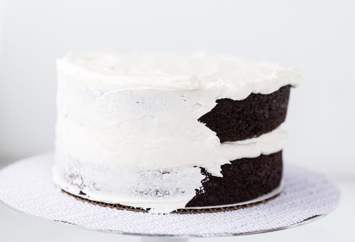 How to Frost a Layered Cake