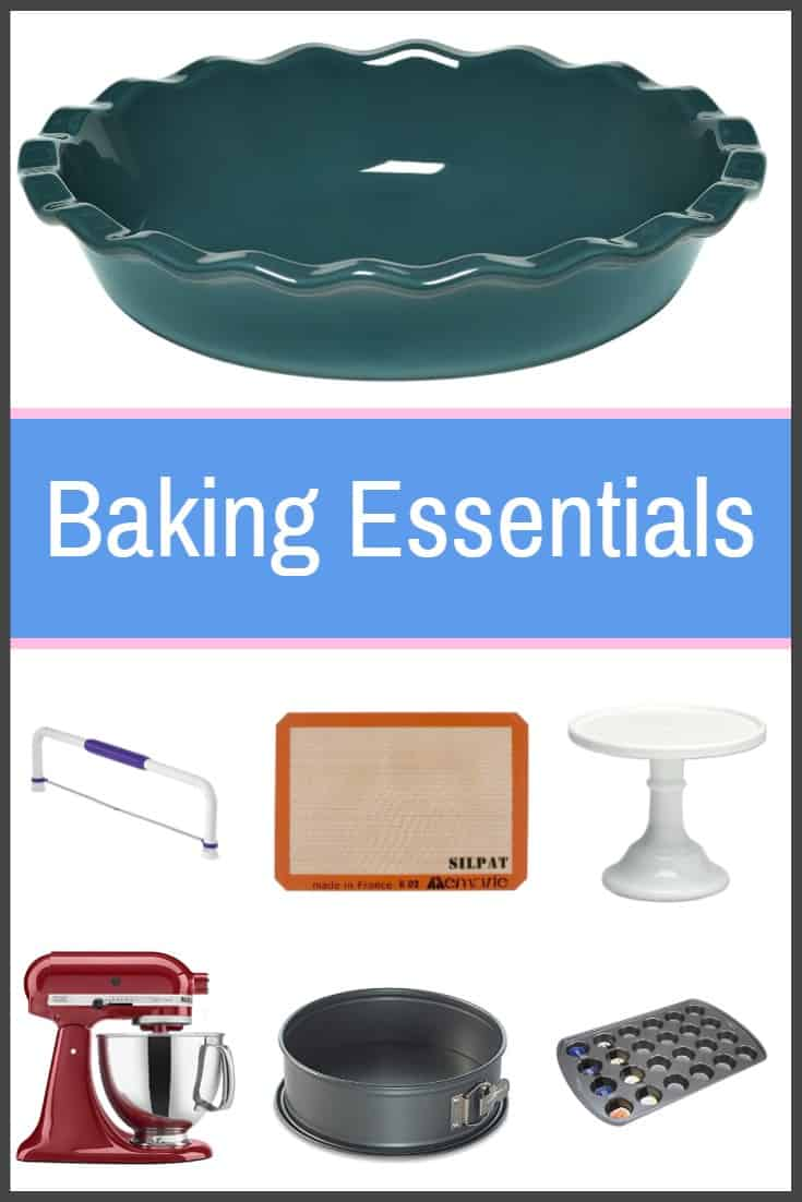 I have so many tools that i use for baking and i wanted to share with you some of my favorites this list of baking essentials are must haves that every