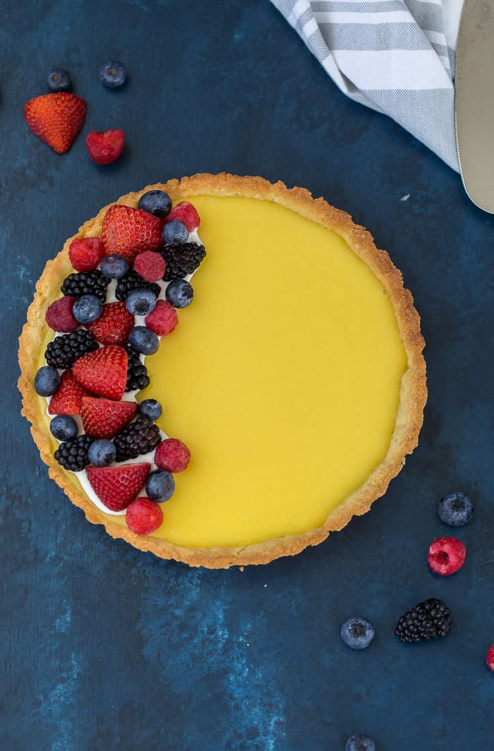 Classic Lemon Tart Recipe