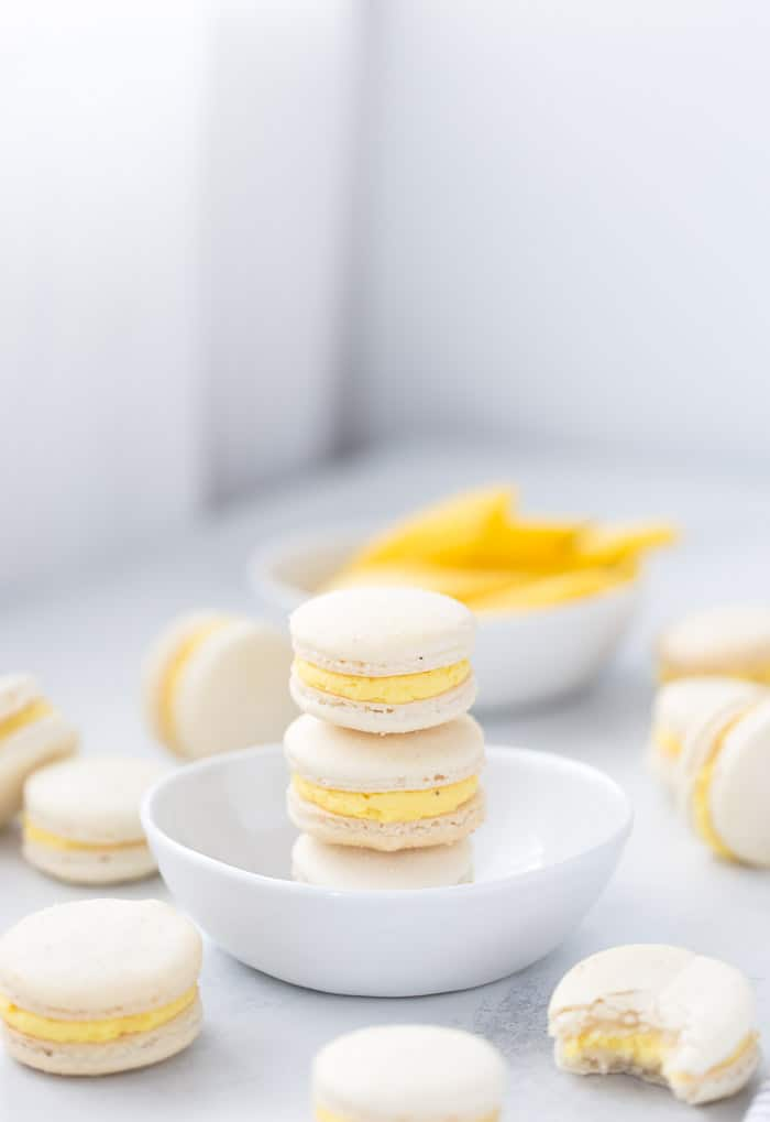 Mango Macarons With A Mango Coconut Buttercream A Classic Twist
