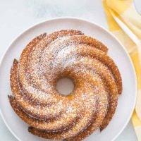 Passion Fruit Bundt Cake