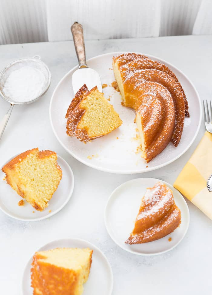 Passion Fruit Bundt Cake