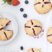 Double Berry Hand Pies
