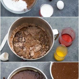 how to make one bowl chocolate cake