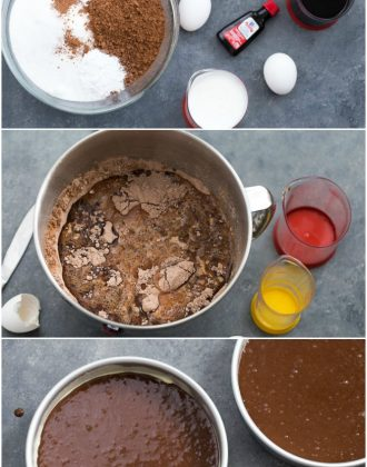 how to make one bowl chocolate cake