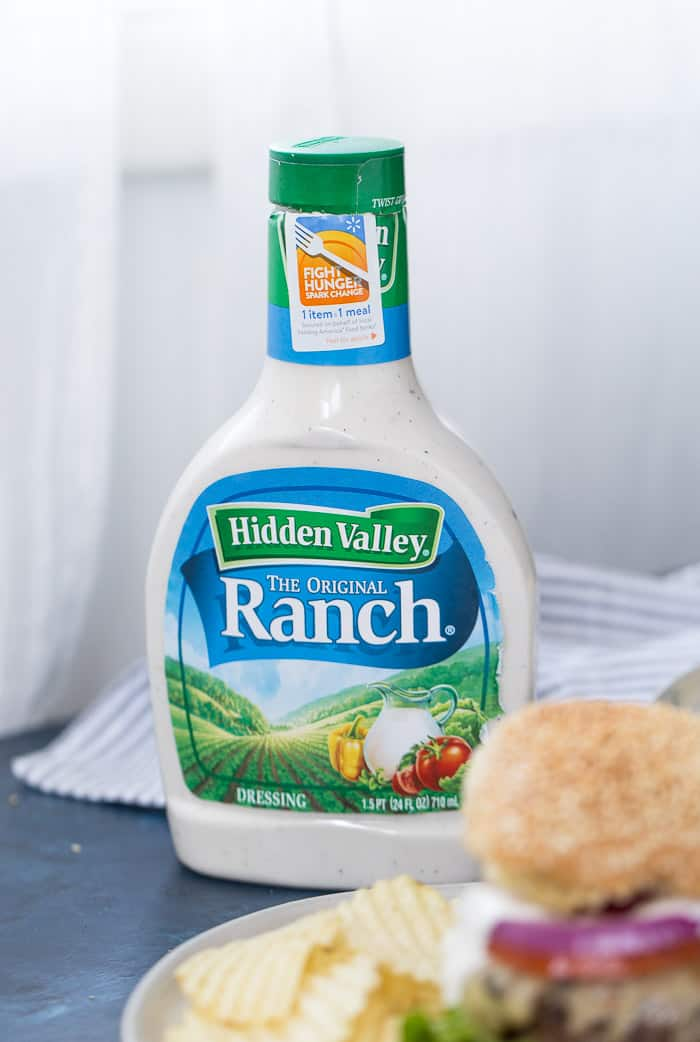 Ranch Crunch Burger