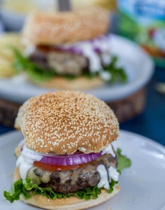 Ranch Crunch Burger
