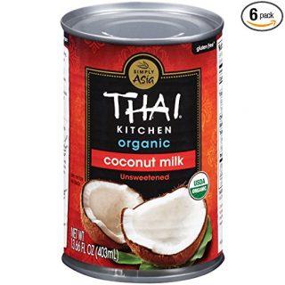 Thai Kitchen Organic Coconut Milk, 13.66 oz (Pack of 6)