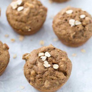 Banana Nut Muffins (GF, Vegan)