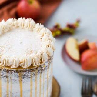Apple Spice Cake with Cinnamon Frosting
