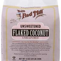 Bob's Red Mill Unsweetened Flaked Coconut,