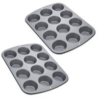 Wilton Nonstick 12-Cup Regular Muffin Pan