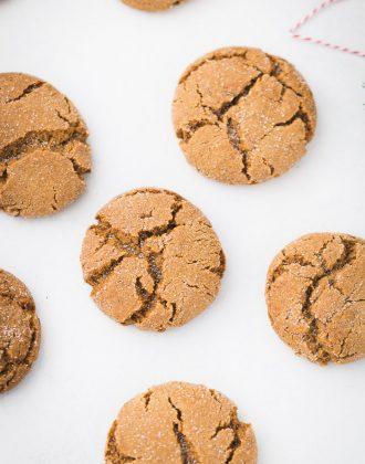 Gingerbread Chai Cookies