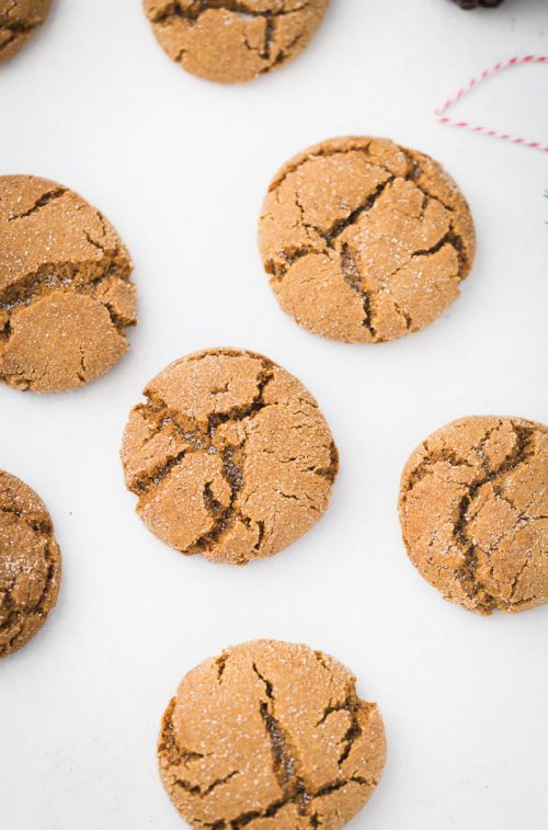 Gingerbread Chai Cookies