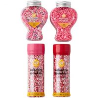 Wilton Valentine's Day Sprinkles Decorating Set, 4-Piece
