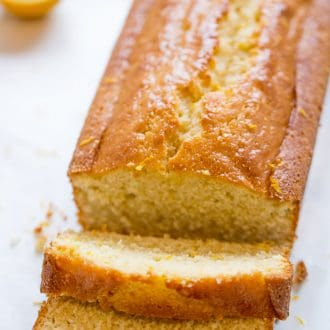 Browned Butter Meyer Lemon Cake