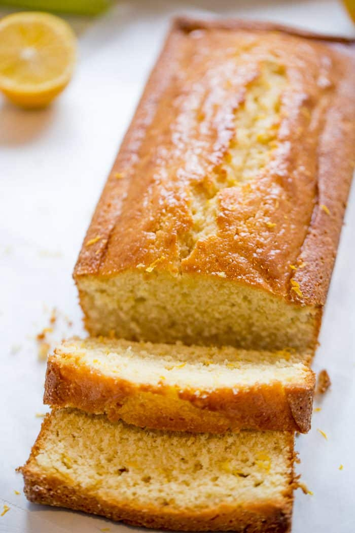 Browned Butter Meyer Lemon Cake
